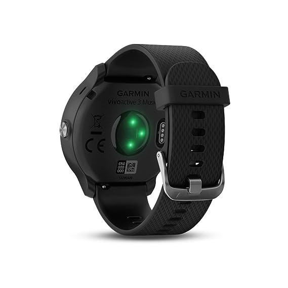 Garmin vivoactive 3 Music Skullcandy Bundle - Montre connectée avec GPS, Cardio au Poignet, écran Touch Gorilla Glass à Couleurs et App Sport, Bundle Casque ...