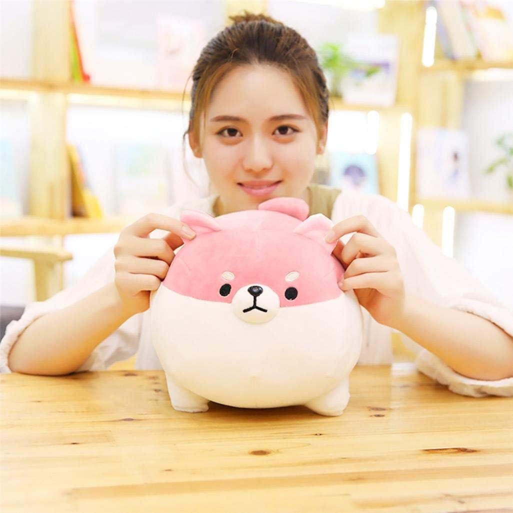 3D Pink Shiba Inu Pl/üschkissen Lendenkissen Geburtstagsgeschenk und Geschenk f/ür Erwachsene und Kinder weich und sicher Weiches Pl/üschspielzeug