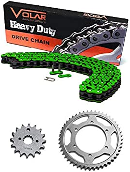 NEW Primary Drive Steel Kit /& O-Ring Chain Fits Kawasaki KX250 1994
