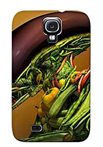 New Arrival Premium Galaxy S4 Case Cover With Appearance (vegetable Alien)