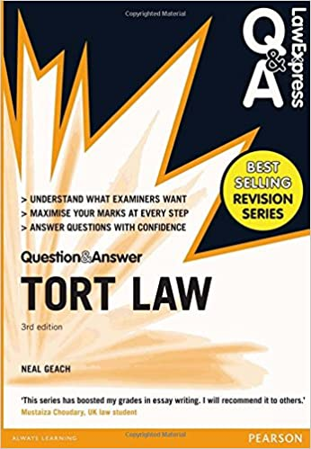 law express question and answer tort law q a revision guide  law express question and answer tort law q a revision guide law express questions answers amazon co uk mr neal geach 9781292066783 books