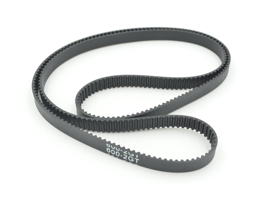 2pcs GT2 Timing Belt Annular Loop Gear Rubber 6mm Width 2mm Pitch 540-2GT