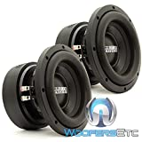 Pair of Sundown Audio E-8 V.5 D4 8'' 300W RMS Dual 4-Ohm EV.5 Series Subwoofers