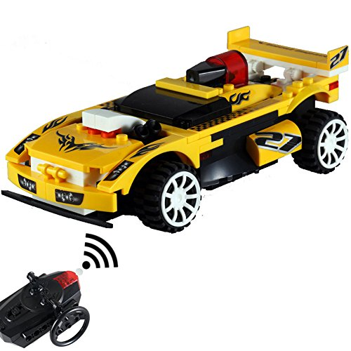 hahaone buildable rc cars building blocks race remote control toys electric rccars rc car for. Black Bedroom Furniture Sets. Home Design Ideas