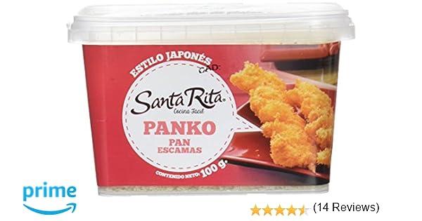 Santa Rita Pan Rallado, Panko Estilo Japonés - 100 gr