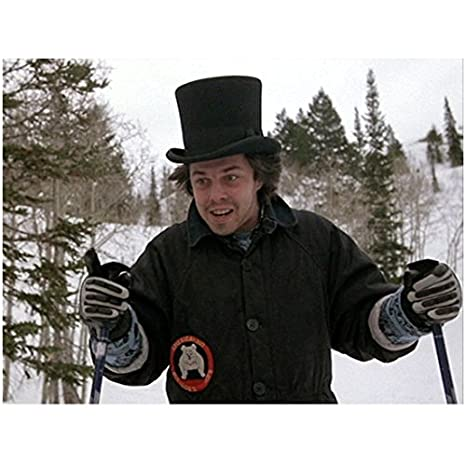 Better Off Dead >> Better Off Dead With Curtis Armstrong In A Top Hat While Skiing 8 X