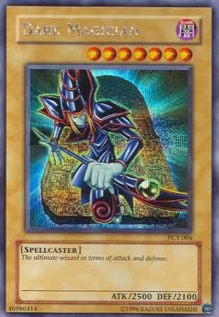 Yu-Gi-Oh! - Dark Magician (PCY-004) - Power of Chaos Yugi the Destiny PC Promo - Promo Edition - Secret Rare - Chaos Secret Rare Card