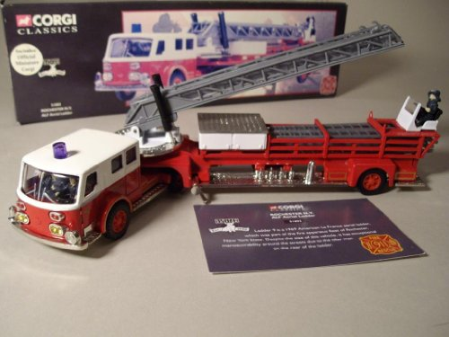 ALF ARIEL LADDER * ROCHESTER, NEW YORK * 1:50 Scale 1998 Corgi Classics Limited Edition Die-Cast Replica Fire Engine (1 of only 5,000 produced)