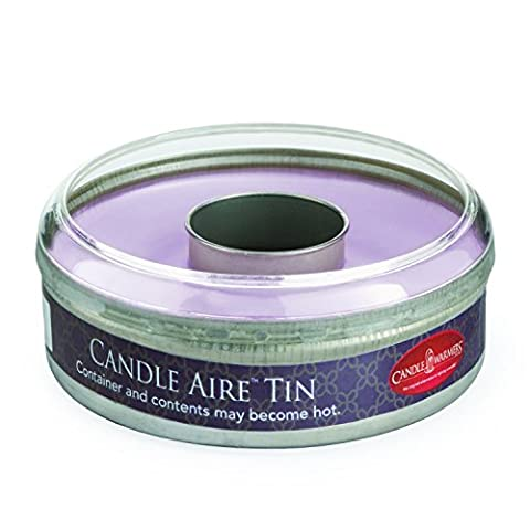 Candle Warmers Etc. Candle Aire Tin Fresh Scents Collection, Love Spell - 4 ounces - Travel Tin Scents