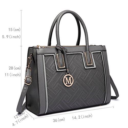 Miss-Lulu-Fashion-Women-Leather-Look-Shoulder-Top-Handle-Handbag