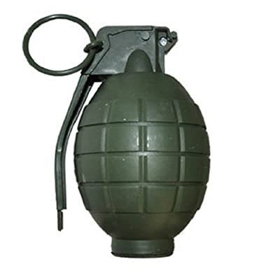 Funny Fashion Green Combat Action Toy Fake Grenade Sound Costume Accessory Prop Army: Clothing