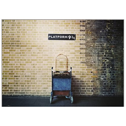 "BirthdayExpress Wizard Express Platform 9 3/4 Photo Poster Backdrop, 61"" x 43"""