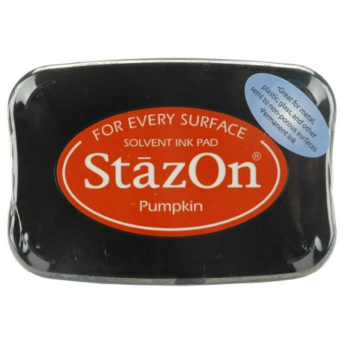 Stazon Pumpkin - Tsukineko, StazOn, Full Size Ink Pad, Pumpkin