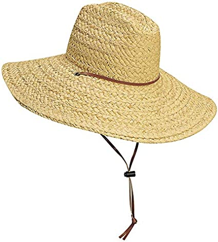 Scala Mens Raffia Lifeguard with Cord
