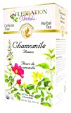 Celebration Herbals Chamomile Flowers, Herbal Tea Bags, 24 Count