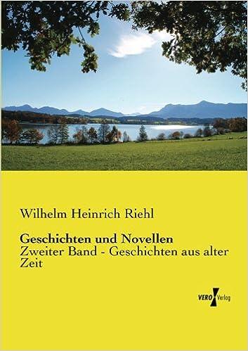 Book Geschichten und Novellen: Zweiter Band - Geschichten aus alter Zeit