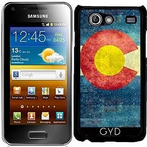 Funda para Samsung Galaxy S Advance (i9070) - Estado Colorado Bandera Retro by BruceStanfieldArtist