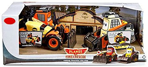 Disney Planes: Fire & Rescue Talking Pinecone and Drip Vehicles