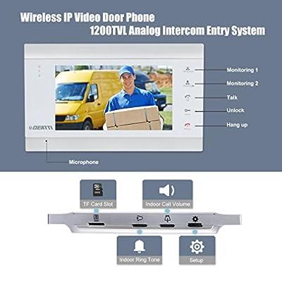 DEATTI Wireless Home Secuirty doorbell Door Phone ¡