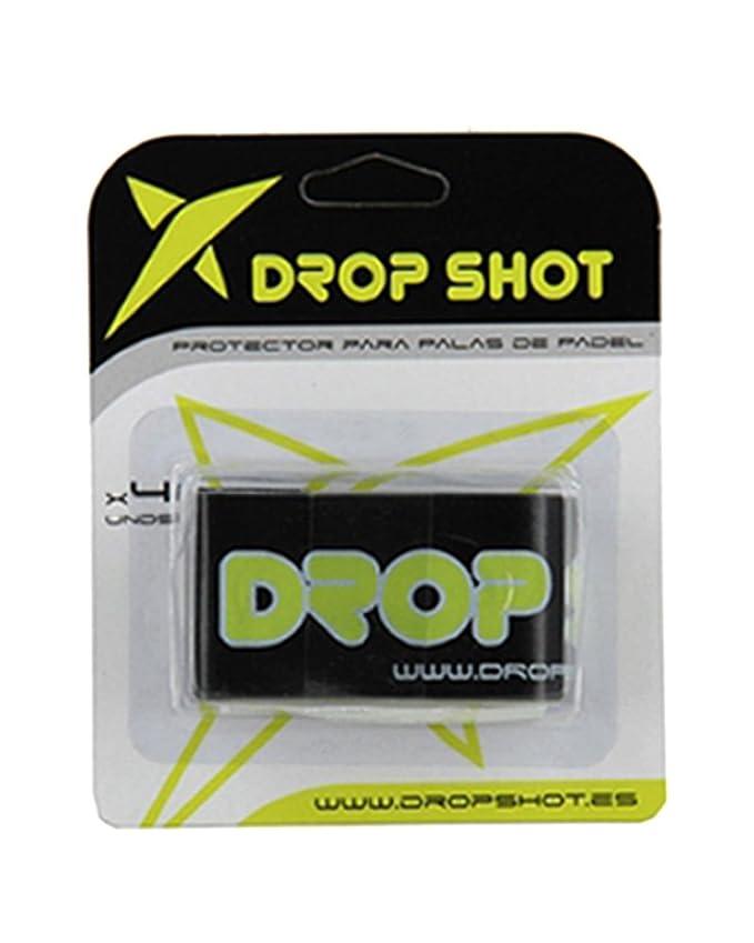 DROP SHOT Protector Palas Padel Blister 4 Uds - Negro ...