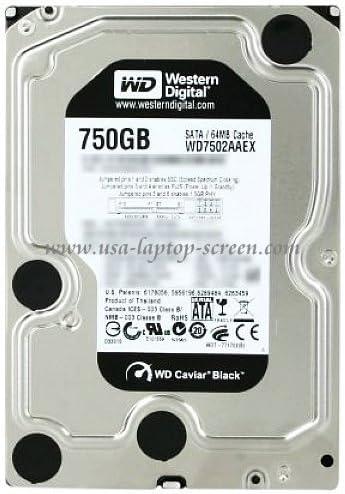 western digital caviar black 750gb 7200 rpm 64mb date buffer 3.5