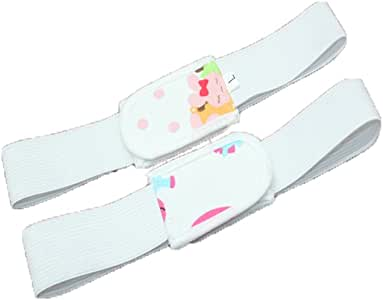 Cierres para pañales, isuper 6 Pack Baby grapas para pañales pañales pañales de tela elástico de cierre para bebé de 0 – 2 años: Amazon.es: Bebé