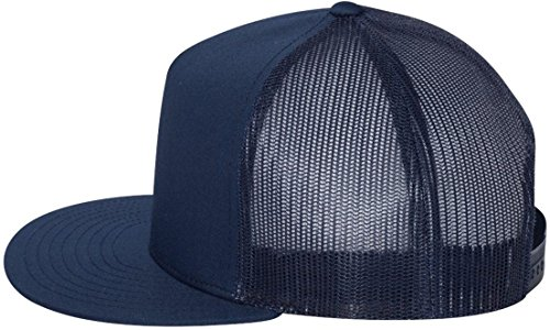 Yupoong Five-Panel Classic Trucker Cap. 6006 - Navy (Crown Five Panel Cap)
