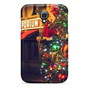 New Style Richardfashion2012 Hard Cases Covers For Galaxy S4- Christmas Eve At Disneyland Black Friday