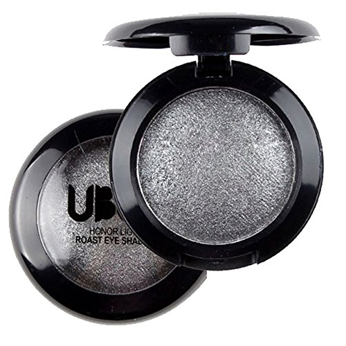 Single Baked Eye Shadow Powder Palette Shimmer Metallic Eyeshadow Palette 02 - 2 Shelf Metallic Cabinet