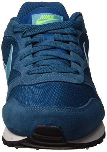 Nike Wmns Md Runner 2, Zapatillas de Gimnasia para Mujer GREEN ABYSS/GAMMA BLUE-ELECTRIC GREEN