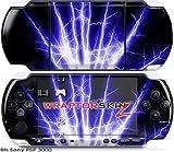 Sony PSP 3000 Decal Style Skin - Lightning Blue (OEM Packaging)