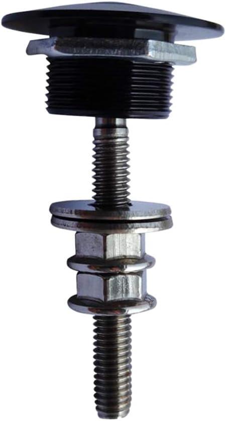 KESOTO 4pcs 1 Zoll Alu Schnellverschluss Sto/ßstange kurz Hauben Verschluss Motorhaube Schwarz