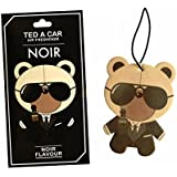 TED A CAR - Exclusive Collection Of Perfumed Air Fresheners For Car, Original Perfumes, Not Supersaturated, Long Keeps The Fragrance, Soft And Pleasant (TED A CAR- NOIR)