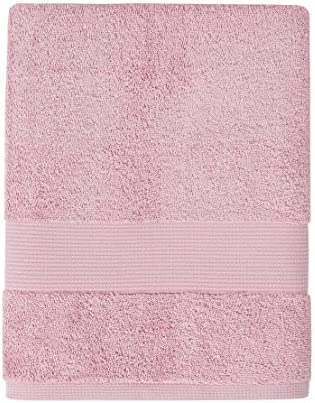 Rosa Asciugamano ultra-morbido 40 x 60 Cotone