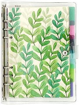 Kreatives Notizbuch zum Selberbefüllen, lose Blätter, dickes Papier, gepunktet, Raster/liniert/blanko, 6 Index-Trennblätter, Tagebuch, Notizbuch A5 Full Kit