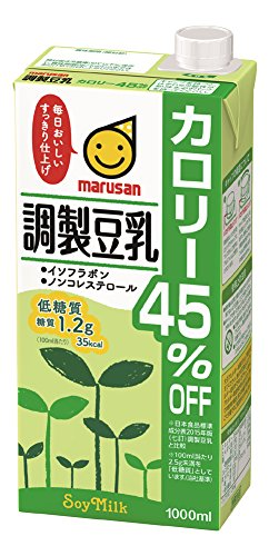 Manufacture soy milk calorie 45% OFF 200mlx24 by Marusanai