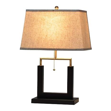 Lámpara de mesa moderna de hierro forjado Estudio Sala de ...