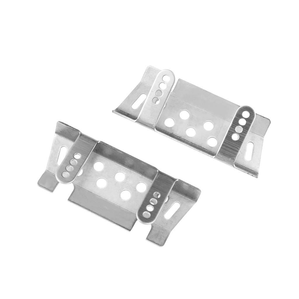 Made of Stainless Steel Can Protect The RC Car from Scratch and Abrasion Eve.Ruan Chassis Armors Protection Guard Skid Plate Part for Traxxas 1//10 TRX-4 T4 RC Car