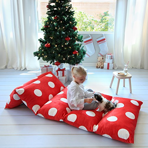 Fit Specific Truck Types (Kid's Floor Pillow Bed Cover - Use as Nap Mat, Portable Toddler Bed or inflatable air mattress alternative for Sleepovers, Travel, Napping, or as a Lounger for Reading, Playing. Cover Only!)