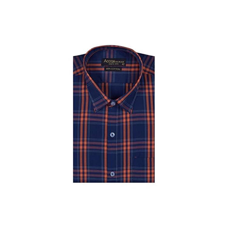 51OAcQ4%2B0XL. SS768  - ACCOX Men's Regular Fit Formal Shirt