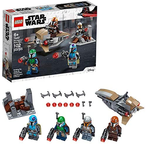 Mandalorian Set Pack of 8 Fits Lego and block. Star Wars Mini-figure