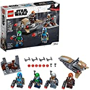 LEGO Star Wars Mandalorian Battle Pack 75267 Mandalorian Shock Troopers and Speeder Bike Building Kit; Great G