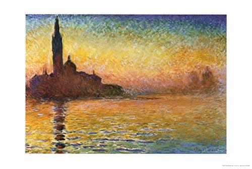 Claude Monet  Art Poster Print - 24x36 Poster Print, 36x24