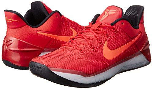 Nike Kobe A.D. Men's Basketball Shoes University Red/Black 852425-608 (10 D(M) US)