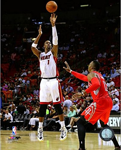 Chris Bosh Miami Heat 2014-2015 NBA Action Photo (Size: 8