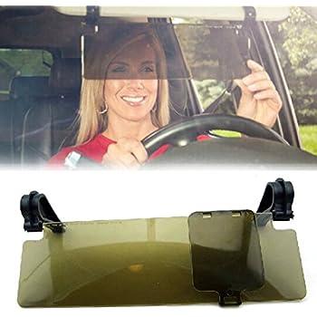 WINOMO Anti Glare Anti-dazzle Clip-on Auto Car Sun Visor Mirror