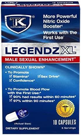 TK Supplements Legendz XL Male Enhancement - 10 Count
