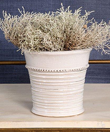 Ceramic Cachepot - Provence Ceramic Cachepot - Antique White