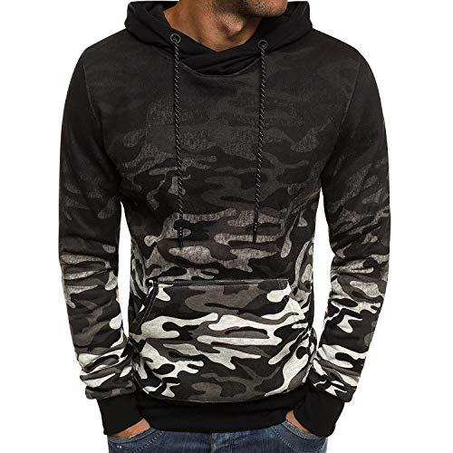 Camouflage Hiver A Hoodie Homme Sweat Chandail Hoodies Shirt Gris Sport Shirts Sweats Imprimé Longues Large Basique Clair Grande Sweatshirt Pull Manches À Capuche Oversize Taille Epais q00nB7pY