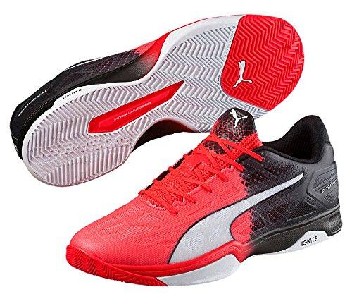 Indoor y blanco Unisex rojo adulto 1 Puma Zapatillas Evospeed 5 negro gxnpF65v